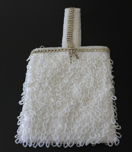 Crystal White Bag